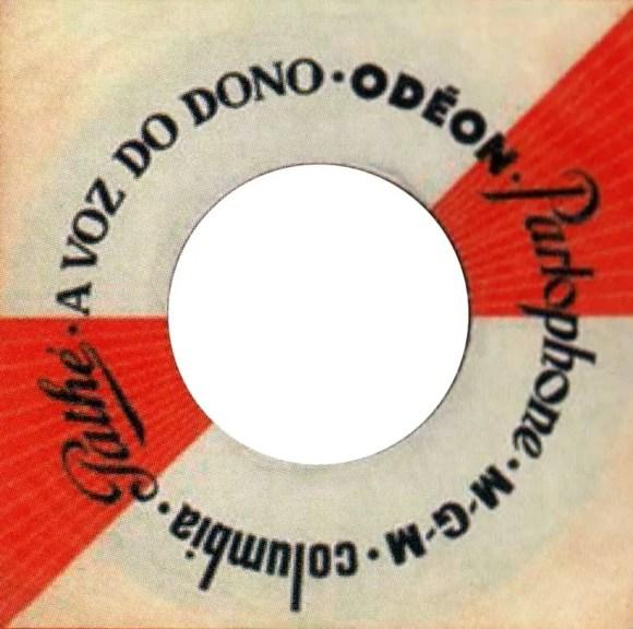 Parlophone single sleeve, 1968 - Portugal