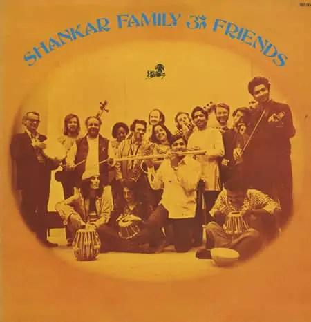 Ravi Shankar Family And Friends album artwork