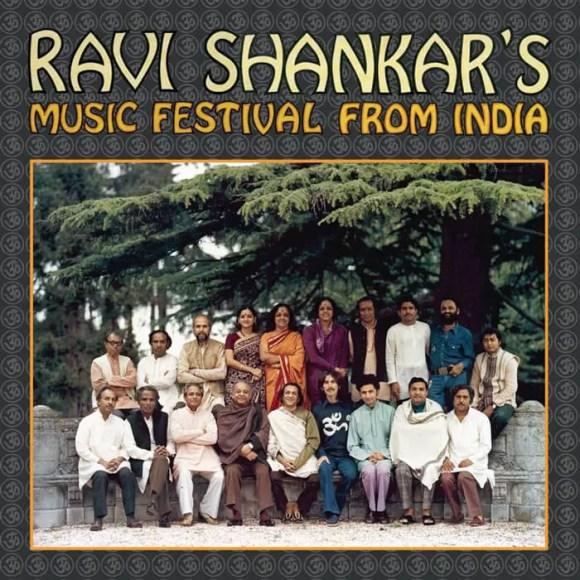Ravi Shankar's Music Festival From India album artwork