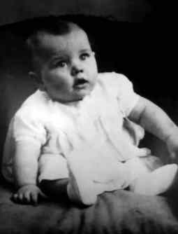 Ringo Starr as a baby