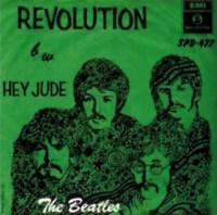 Revolution single artwork – South Africa