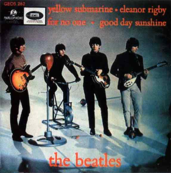 Yellow Submarine EP artwork - Denmark, Norway, Sweden