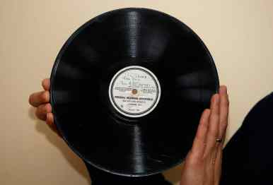 The Beatles' Till There Was You acetate record (HMV)
