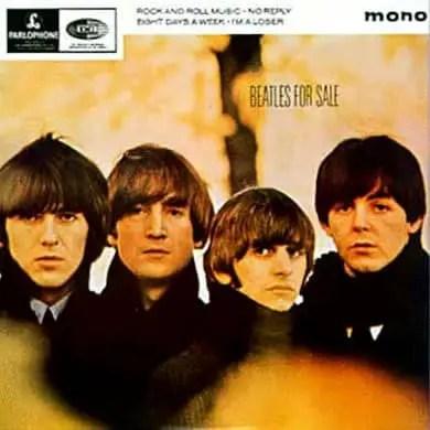 Beatles For Sale EP artwork - United Kingdom