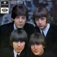 Beatles For Sale No 2 EP artwork - United Kingdom