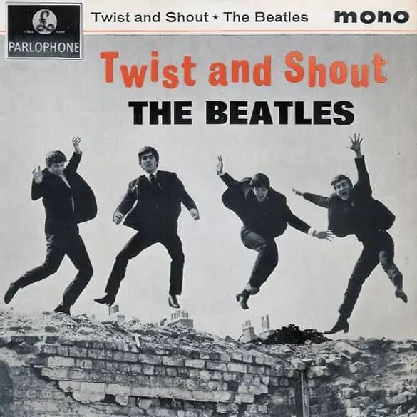 Twist And Shout EP artwork – United Kingdom