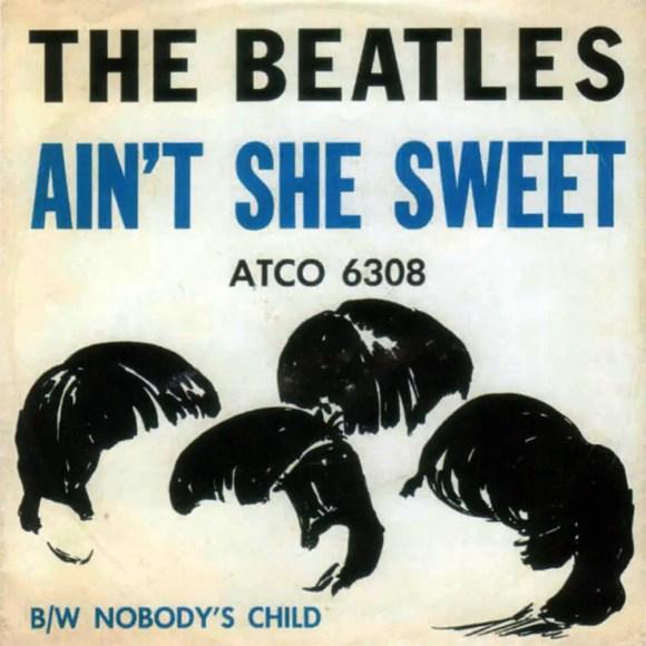Ain't She Sweet single artwork - USA