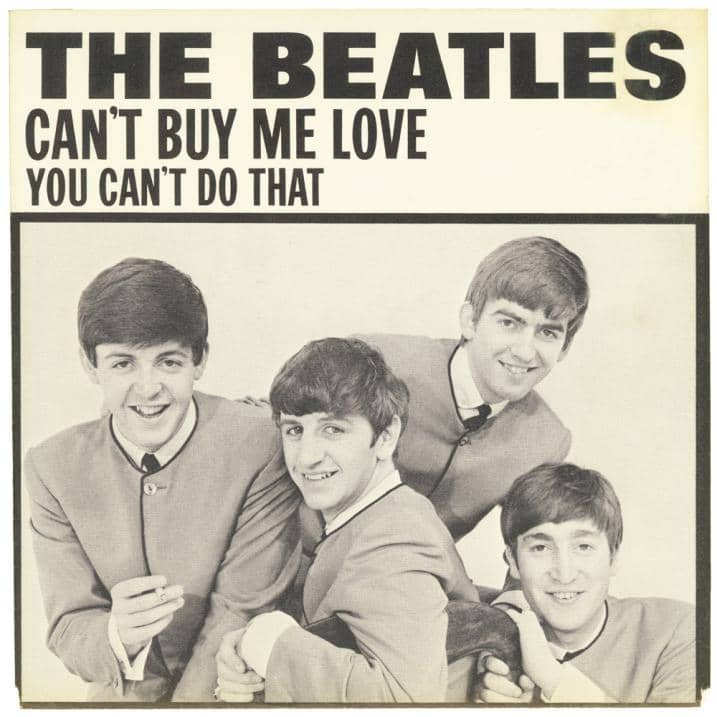 Can't Buy Me Love single artwork – USA