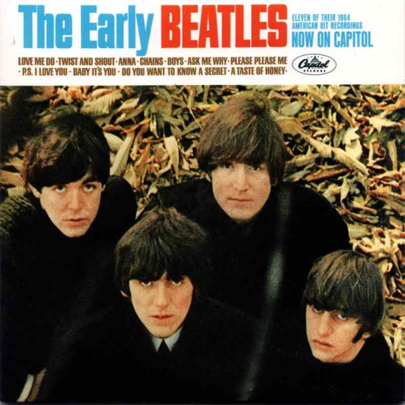 The Early Beatles album artwork – USA