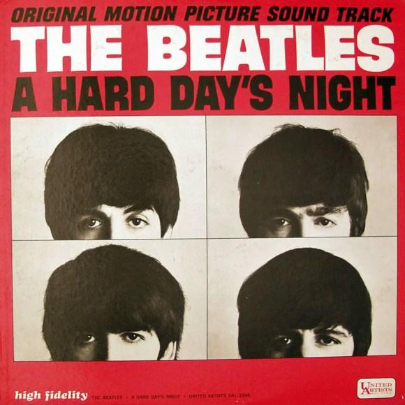 A Hard Day's Night album artwork - USA
