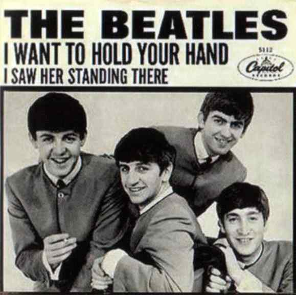 I Want To Hold Your Hand single artwork - USA