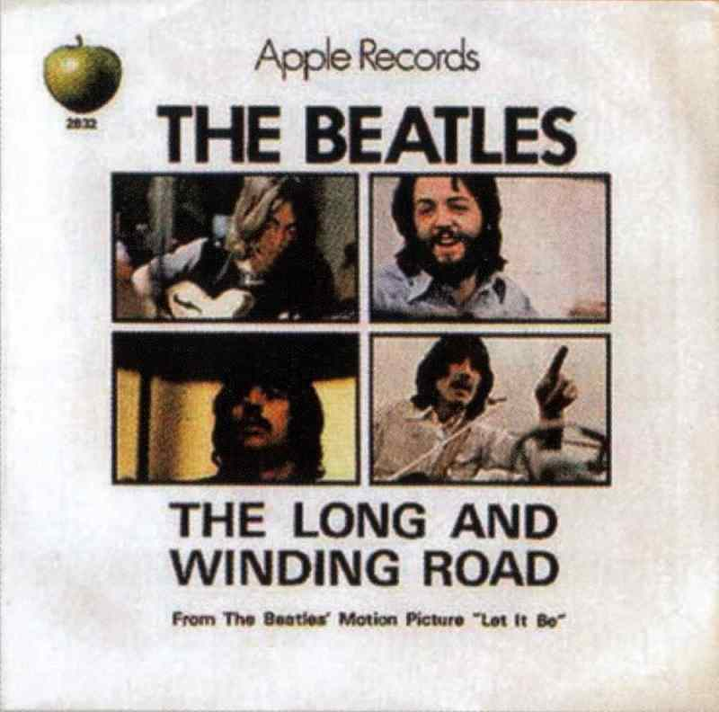 The Long And Winding Road single artwork – USA