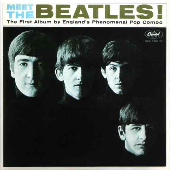 Meet The Beatles! album artwork - USA