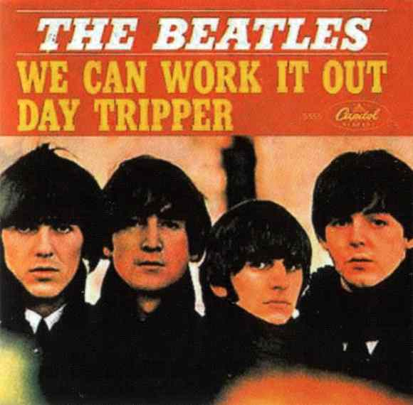 We Can Work It Out single artwork – USA