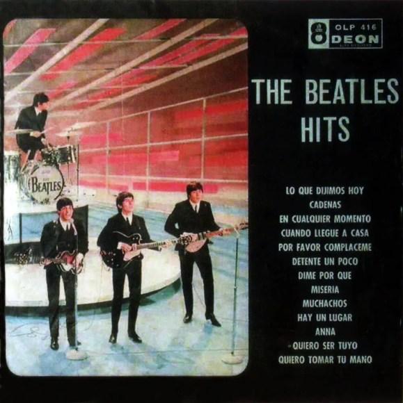 Beatles Hits album artwork - Venezuela