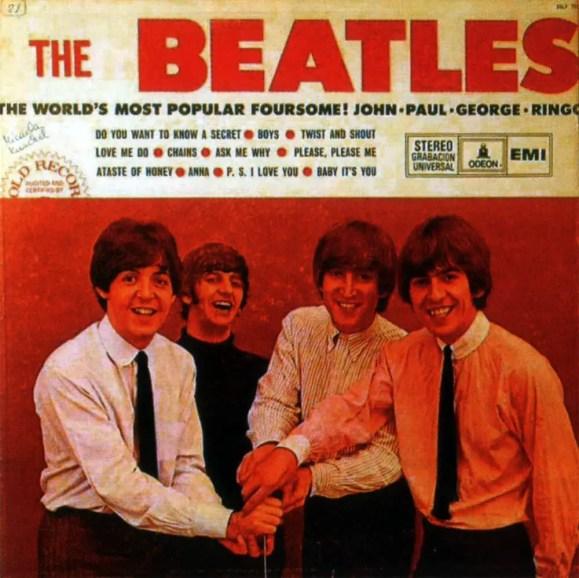 Early Beatles album artwork - Venezuela