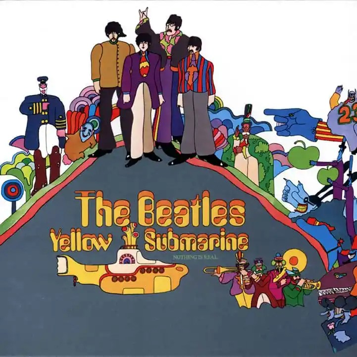 Yellow Submarine album artwork