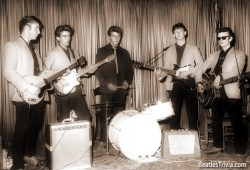 Five Beatles at The Indra Club
