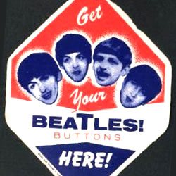 Get Your Beatles Buttons Here!