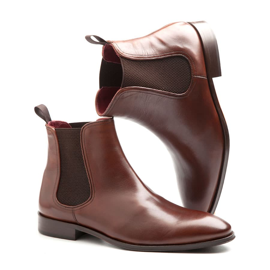 Brown Chelsea boots for men Cassady