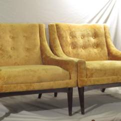 Crushed Velvet Chair Cover Hire Warrington Sold: 2 Yellow Crush Club Chairs