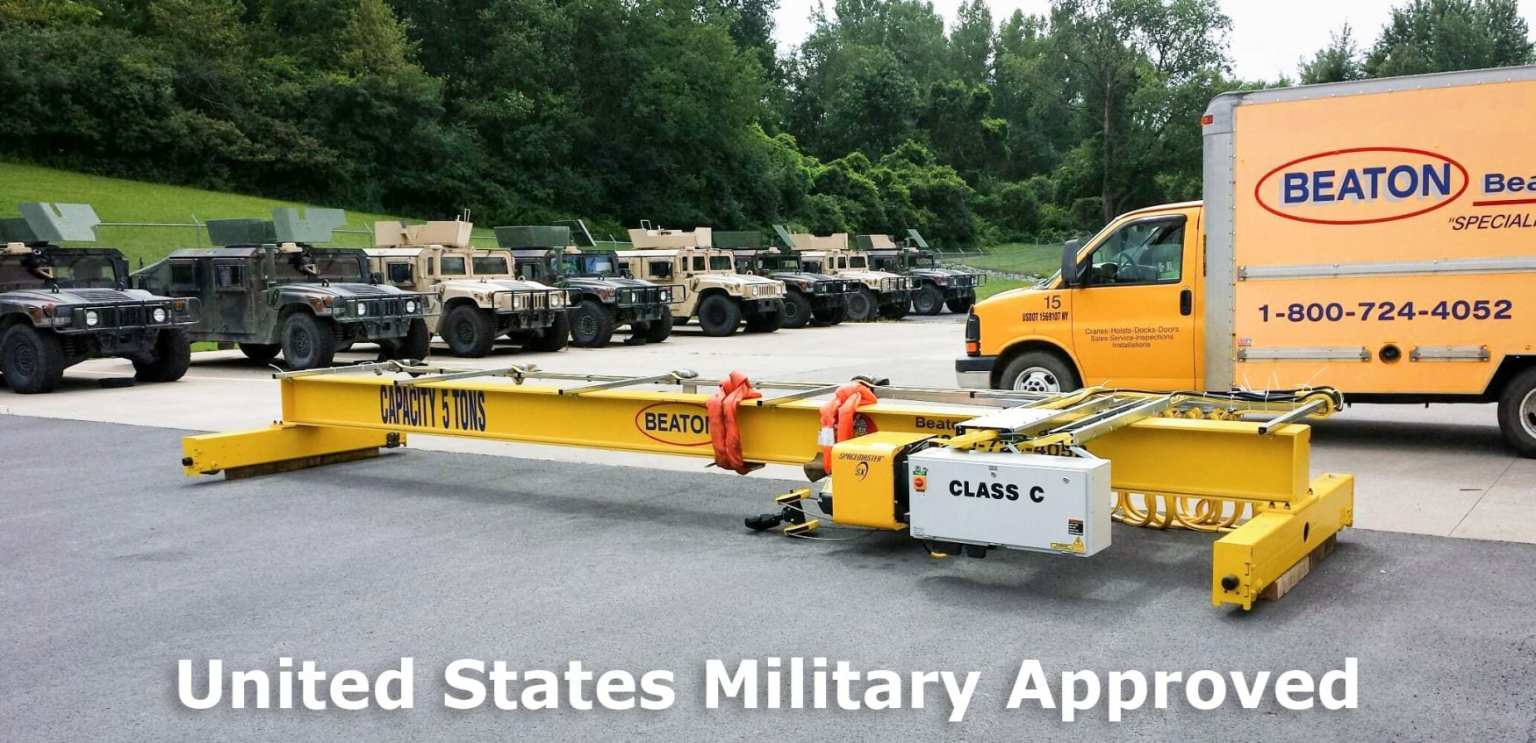 Military Bridge Crane