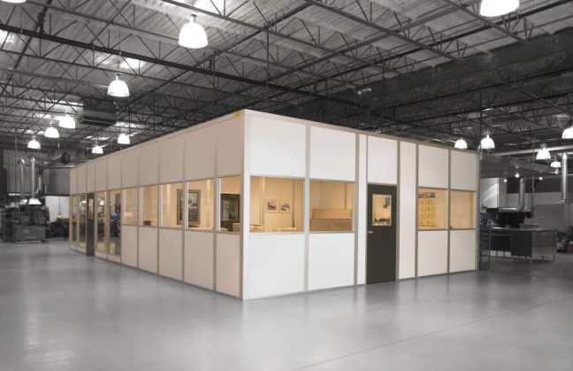 Starrco Modular In Plant Office - Employee Break Room - Lunch Room - Plant Manager Office