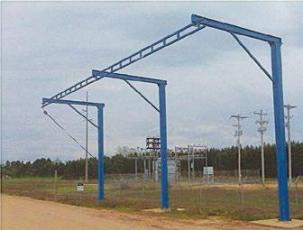 Tether Track - Free Standing Monorail