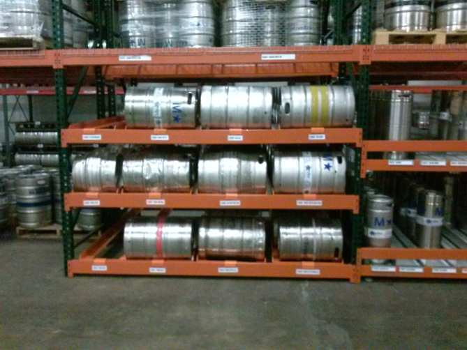 Pallet Racking Identification - Keg Racking System
