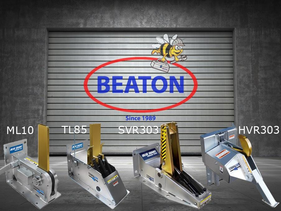 Beaton Door with Vehicle Restraints With Lettering - OPTIMIZED