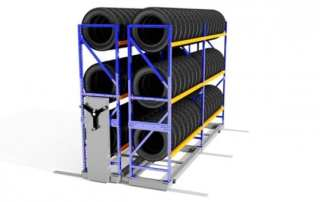 Automotive Tire Pallet Rack