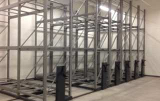 Moveable Pallet Racking