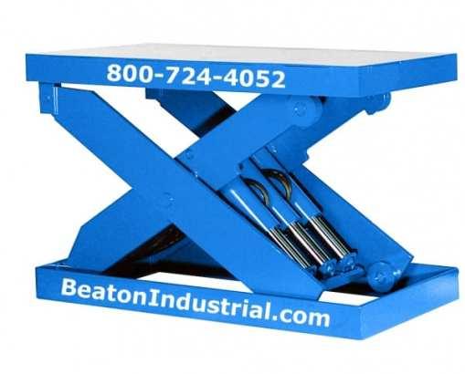 heavy duty hydraulic lift table