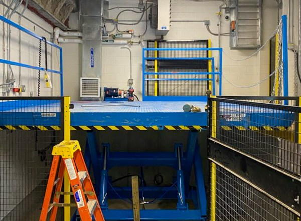 Scissor Dock Lift Replacment