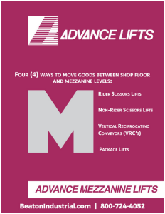 Mezzanine Access Lifts