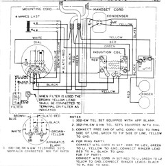 Telephone Handset Wiring Diagram Heath Zenith Motion Sensor Light Outstanding Pattern Bes Western Electric 302 Get Free Image About