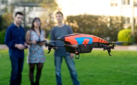 Testing the drone at Ekumen