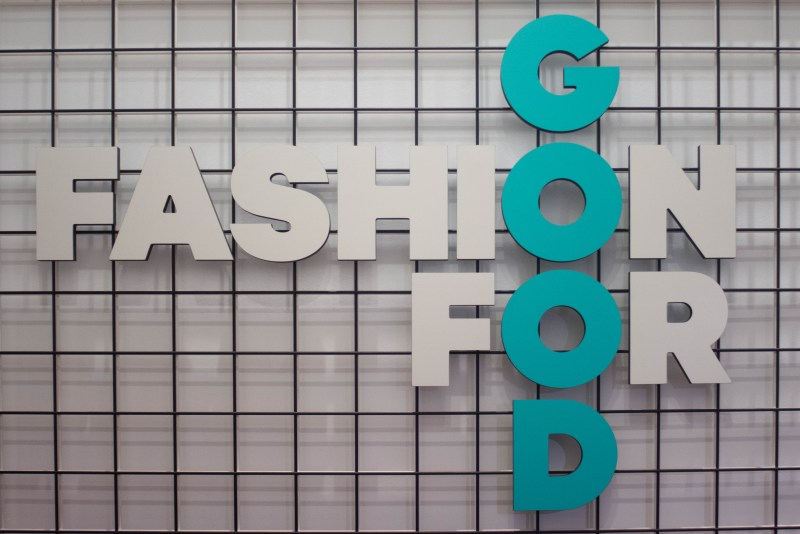 Fashion for Good Museum in downtown Amsterdam, the Netherlands opens its doors to show off fall collections.