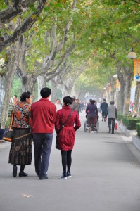© Beatrice Otto Shanghai Fuxing Park strollers