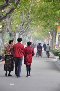 Shanghai Fuxing Park strollers