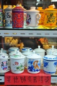 © Beatrice Otto Shanghai tea cups in window
