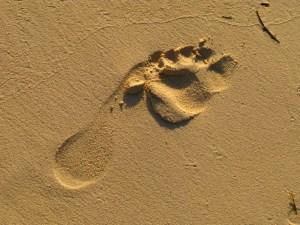 © Beatrice Otto sand footprint 3