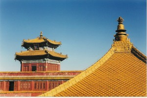 Chengde temple roof