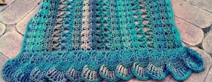 Midnight Breeze Crochet Shawl Video Tutorial!!