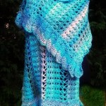 Midnight Breeze Shawl