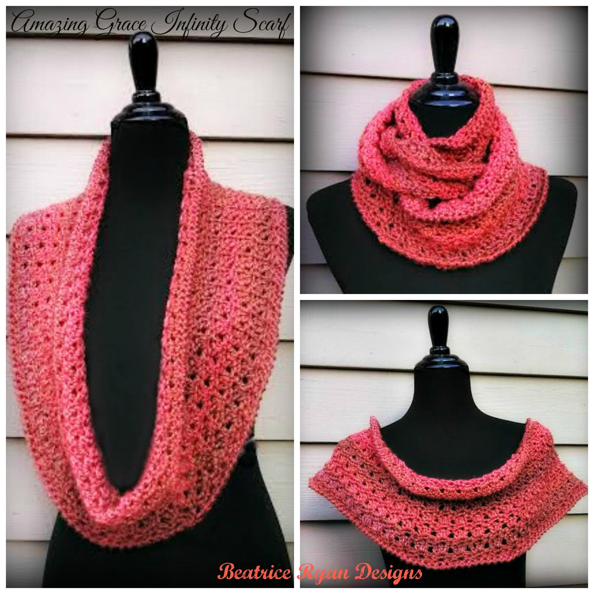 Amazing grace infinity scarf free crochet pattern amazing grace infinity scarf free crochet pattern bankloansurffo Choice Image