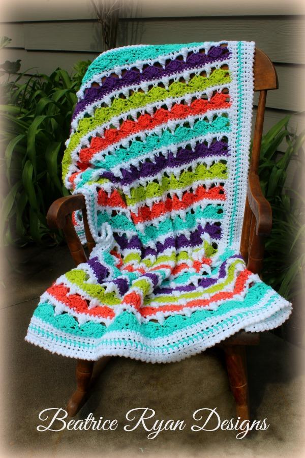 Summer Day's Baby Blanket ...