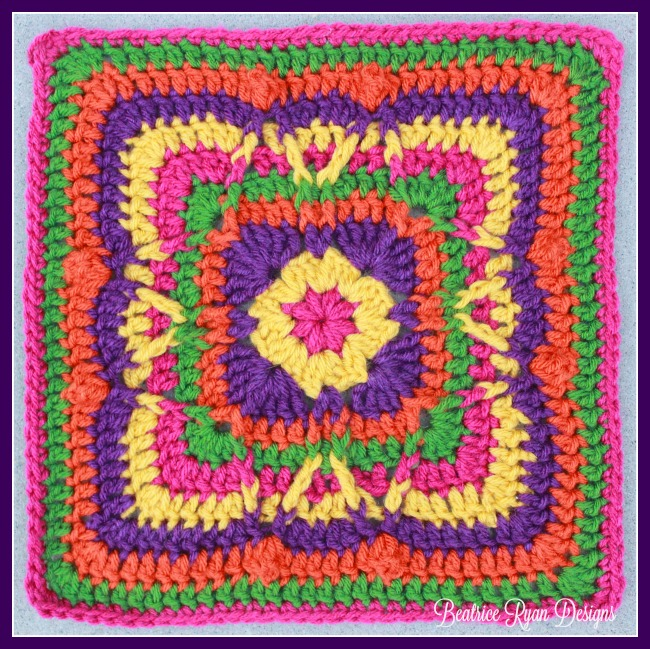 Festival of Fall Square... Free Crochet Pattern!