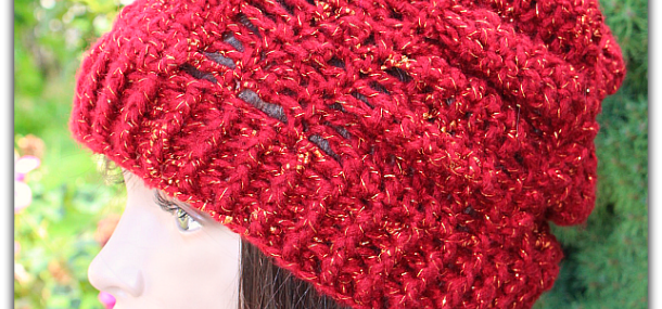 September Jewel Slouchy Hat