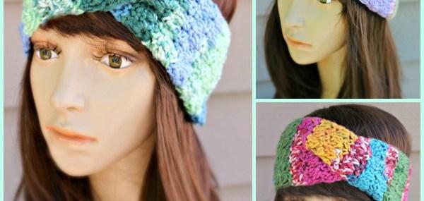 Amazing Grace Twisted Headband…Free Crochet Pattern!